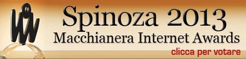 Spinoza for Internet Awards 2013